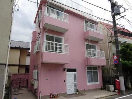 東京都目黒区、祐天寺駅徒歩15分の築36年 3階建の賃貸アパート