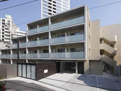 東京都港区、神谷町駅徒歩10分の築2年 6階建の賃貸マンション