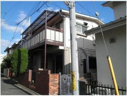 東京都目黒区、都立大学駅徒歩13分の築46年 2階建の賃貸アパート