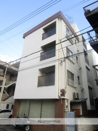 東京都目黒区、大岡山駅徒歩7分の築39年 4階建の賃貸マンション