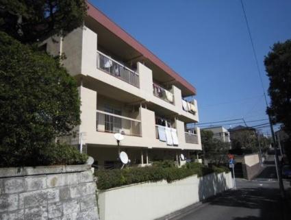 東京都世田谷区、九品仏駅徒歩21分の築42年 3階建の賃貸マンション