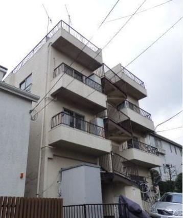 東京都大田区、洗足駅徒歩9分の築42年 3階建の賃貸マンション
