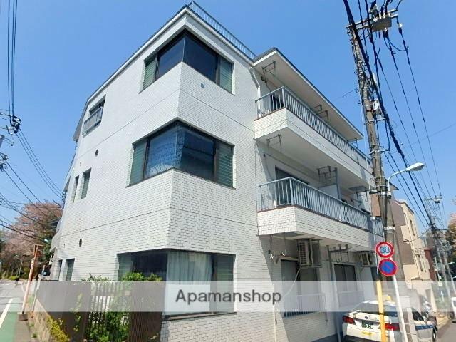 東京都渋谷区、幡ヶ谷駅徒歩10分の築34年 3階建の賃貸マンション