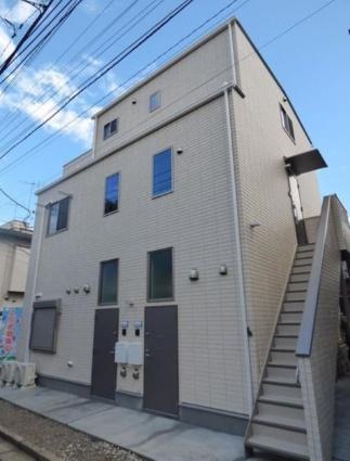 東京都目黒区、都立大学駅徒歩15分の新築 3階建の賃貸アパート