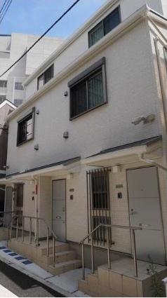東京都港区、赤坂見附駅徒歩9分の築1年 3階建の賃貸アパート