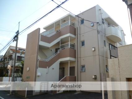 東京都世田谷区、等々力駅徒歩12分の築33年 3階建の賃貸マンション