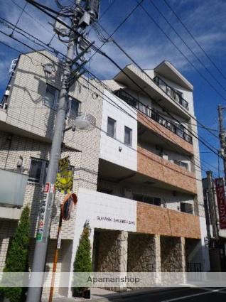 東京都目黒区、目黒駅東急バスバス7分清水下車後徒歩1分の築12年 5階建の賃貸マンション