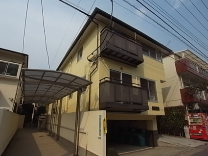 東京都目黒区、西小山駅徒歩10分の築12年 2階建の賃貸マンション
