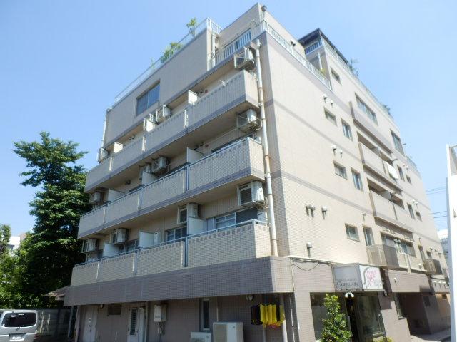 東京都世田谷区、成城学園前駅徒歩17分の築22年 5階建の賃貸マンション