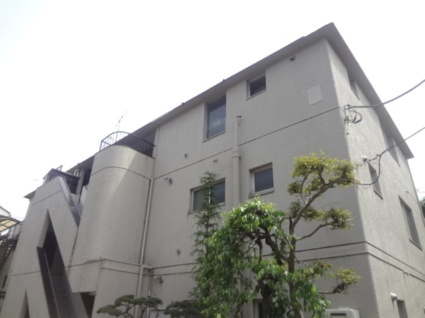 東京都杉並区、永福町駅徒歩8分の築39年 3階建の賃貸マンション