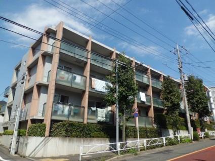 東京都目黒区、学芸大学駅徒歩24分の築18年 4階建の賃貸マンション