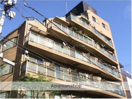 東京都渋谷区、代々木駅徒歩5分の築16年 7階建の賃貸マンション