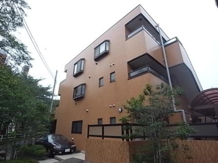 東京都目黒区、学芸大学駅徒歩19分の築21年 3階建の賃貸マンション