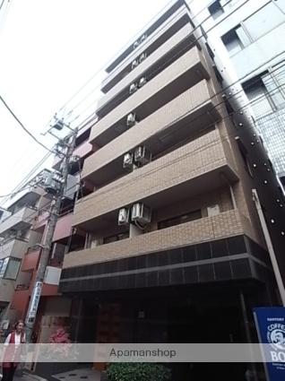 東京都目黒区、都立大学駅徒歩1分の築15年 7階建の賃貸マンション