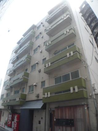 東京都目黒区、神泉駅徒歩11分の築45年 7階建の賃貸マンション