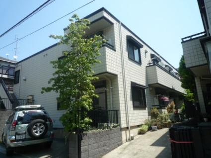 東京都世田谷区、経堂駅徒歩18分の築20年 2階建の賃貸マンション