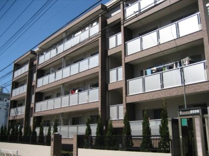 東京都目黒区、祐天寺駅徒歩7分の築47年 4階建の賃貸マンション