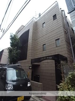 東京都世田谷区、代々木上原駅徒歩16分の築26年 4階建の賃貸マンション
