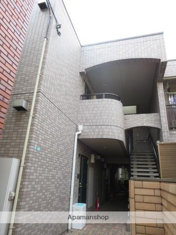 東京都目黒区、三軒茶屋駅徒歩19分の築21年 2階建の賃貸マンション