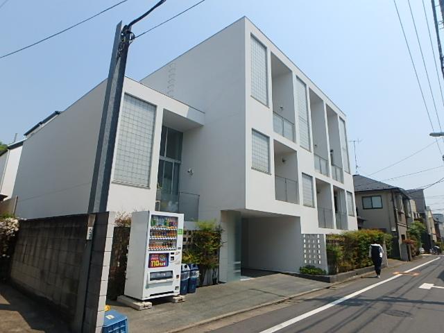 東京都目黒区、自由が丘駅徒歩12分の築16年 4階建の賃貸マンション