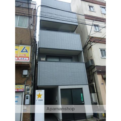 東京都港区、浜松町駅徒歩5分の築17年 4階建の賃貸マンション