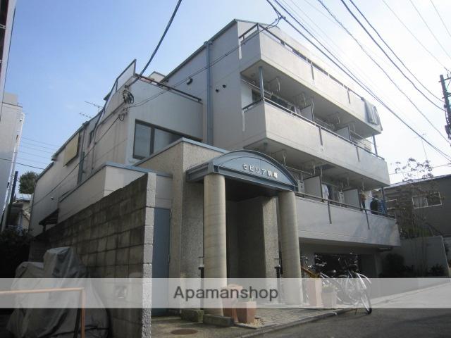 東京都目黒区、池ノ上駅徒歩6分の築29年 4階建の賃貸マンション