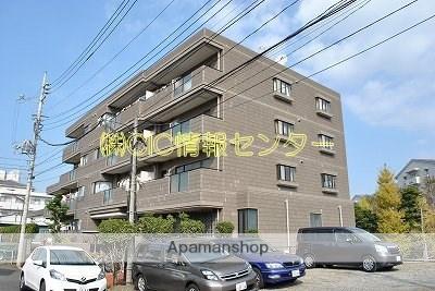 神奈川県横浜市都筑区、川和町駅徒歩18分の築28年 5階建の賃貸マンション