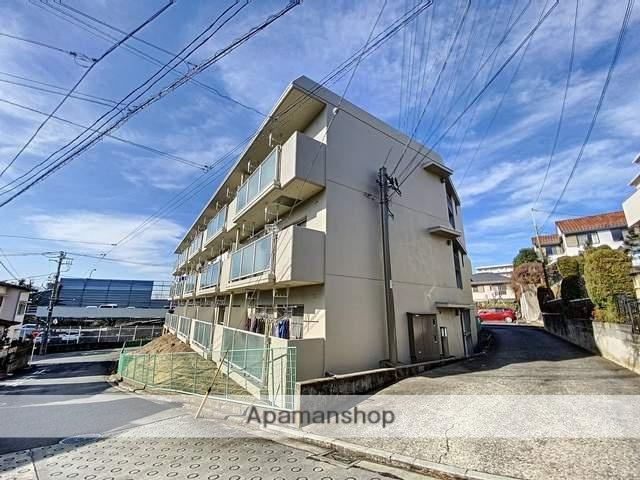神奈川県横浜市青葉区、鷺沼駅徒歩12分の築30年 3階建の賃貸マンション