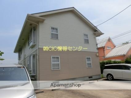 神奈川県横浜市都筑区、センター北駅バス7分寺窪下車後徒歩3分の築21年 2階建の賃貸アパート