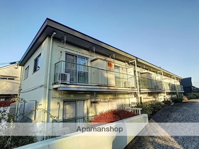 神奈川県横浜市青葉区、たまプラーザ駅徒歩22分の築34年 2階建の賃貸マンション