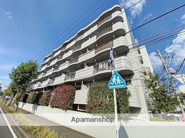 神奈川県横浜市青葉区、鷺沼駅徒歩39分の築23年 5階建の賃貸マンション