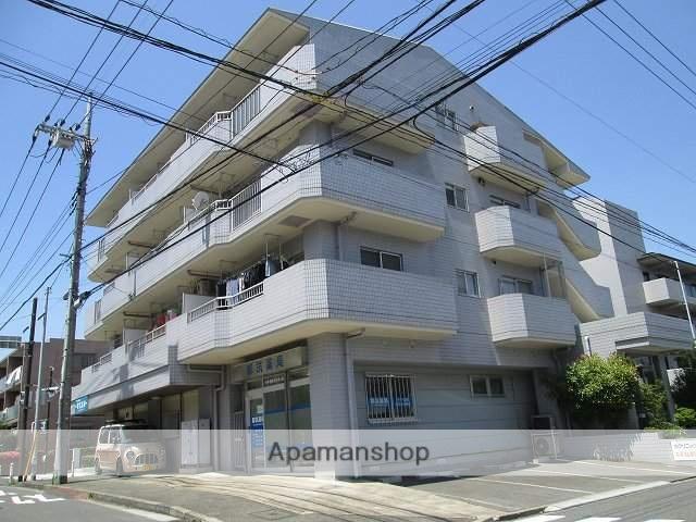 神奈川県横浜市都筑区、センター南駅徒歩10分の築27年 4階建の賃貸マンション