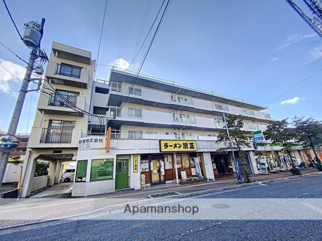 神奈川県横浜市青葉区、江田駅徒歩17分の築39年 4階建の賃貸マンション