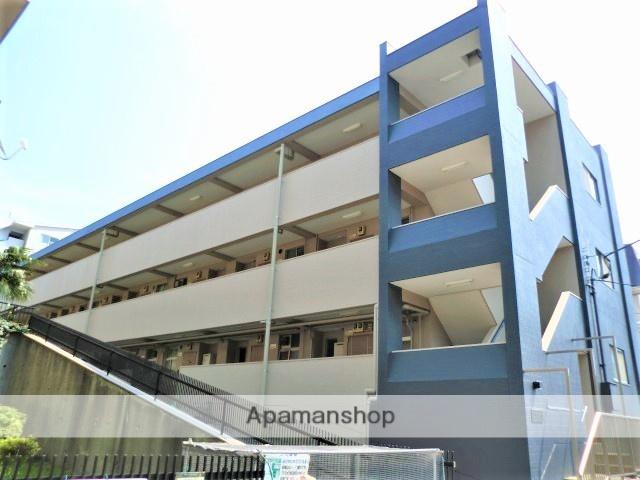 神奈川県横浜市青葉区、たまプラーザ駅徒歩6分の築40年 3階建の賃貸マンション