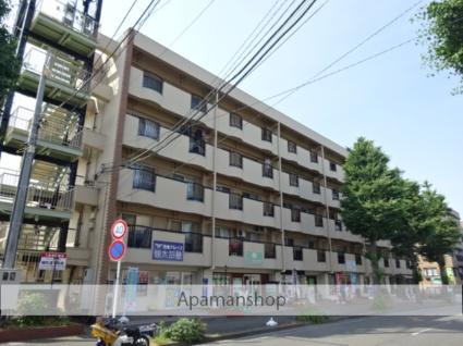 神奈川県横浜市青葉区、市が尾駅徒歩27分の築41年 5階建の賃貸マンション