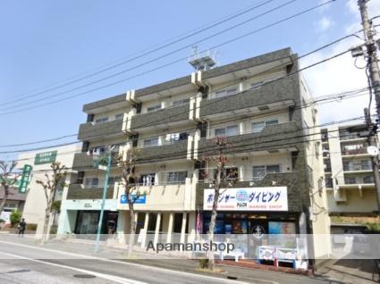 神奈川県横浜市青葉区、たまプラーザ駅徒歩22分の築38年 4階建の賃貸マンション