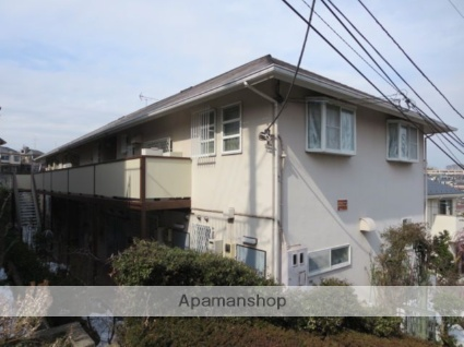 神奈川県横浜市港北区、菊名駅徒歩12分の築25年 2階建の賃貸アパート