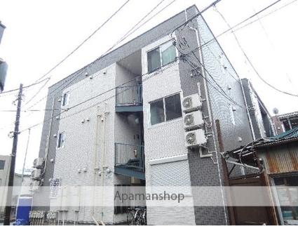 神奈川県横浜市神奈川区、大口駅徒歩10分の築4年 3階建の賃貸アパート