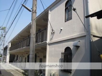 神奈川県横浜市港北区、綱島駅徒歩18分の築25年 2階建の賃貸マンション