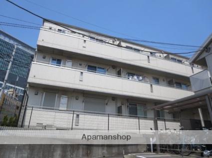 神奈川県横浜市港北区、菊名駅徒歩18分の築5年 3階建の賃貸アパート