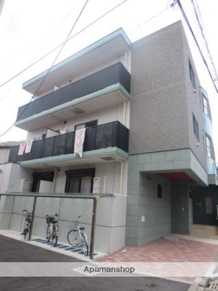 神奈川県横浜市港北区、大倉山駅徒歩12分の築2年 3階建の賃貸マンション