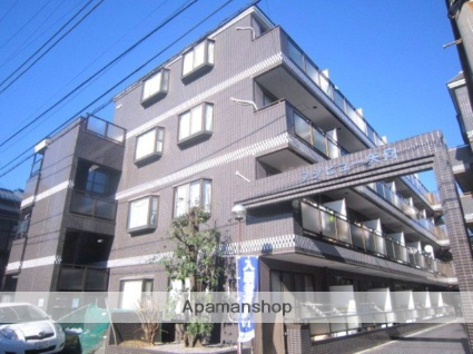神奈川県横浜市鶴見区、川崎駅徒歩21分の築25年 4階建の賃貸マンション