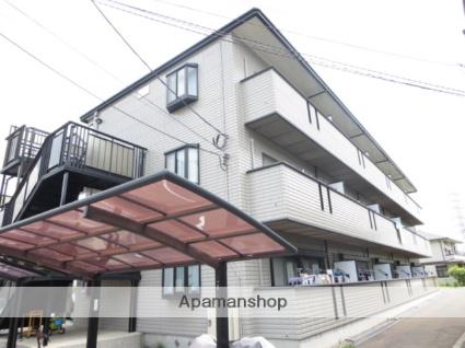神奈川県横浜市港北区、綱島駅徒歩15分の築17年 3階建の賃貸マンション