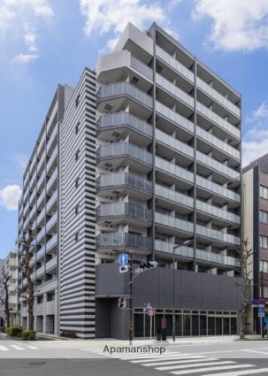 神奈川県横浜市中区、関内駅徒歩5分の築1年 11階建の賃貸マンション