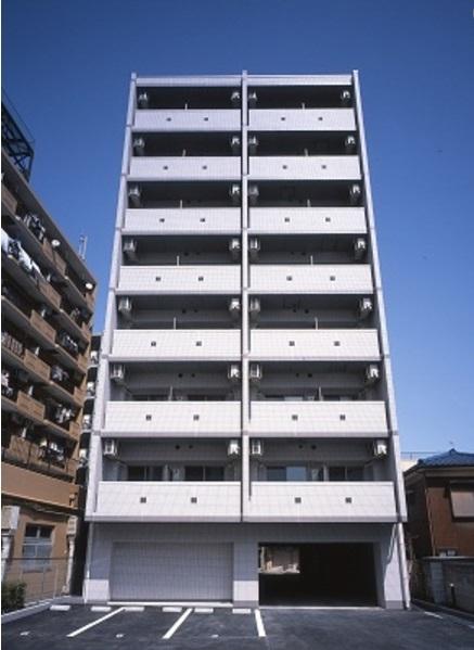 神奈川県川崎市中原区、向河原駅徒歩2分の築4年 8階建の賃貸マンション