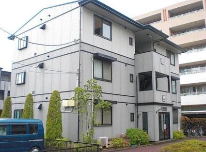 神奈川県川崎市中原区、武蔵小杉駅徒歩10分の築16年 3階建の賃貸アパート