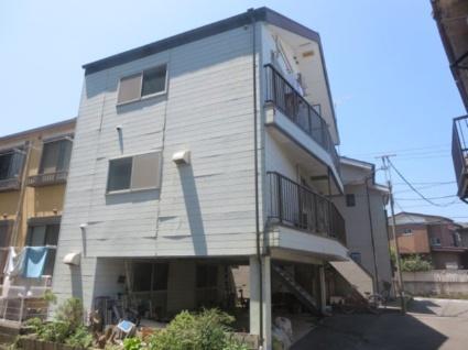 神奈川県横浜市港北区、菊名駅徒歩8分の築25年 3階建の賃貸アパート