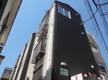 神奈川県横浜市港北区、菊名駅徒歩26分の築4年 3階建の賃貸アパート