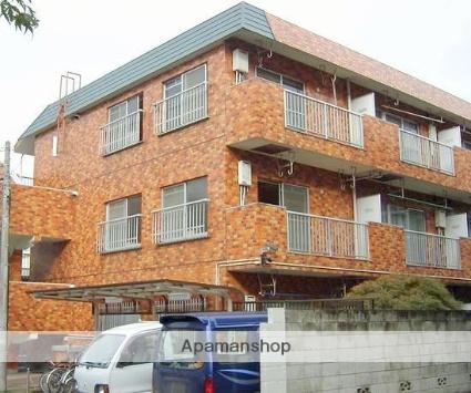 神奈川県横浜市港北区、綱島駅徒歩7分の築35年 3階建の賃貸マンション