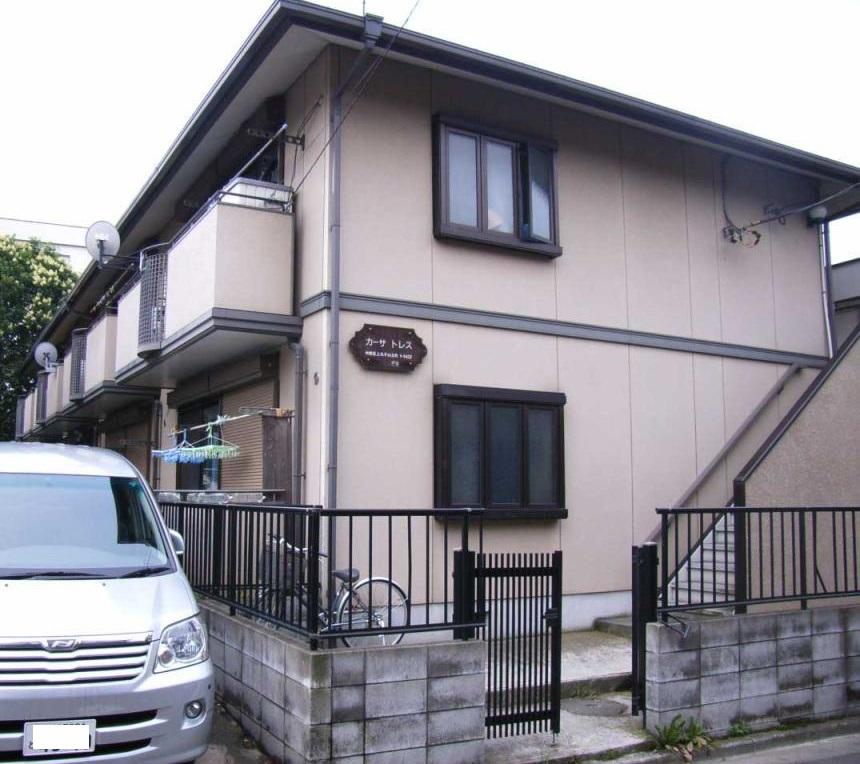 神奈川県川崎市中原区、向河原駅徒歩11分の築22年 2階建の賃貸アパート